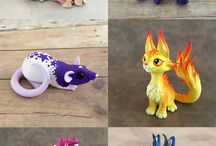 Favorite Polymer Clay Creations