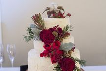 Warm Rustic Christmas Wedding