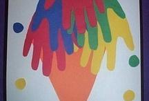 handprint ideas☆kids