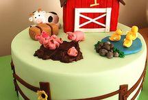 Farm Cakes + Cupcakes + Cake Pops