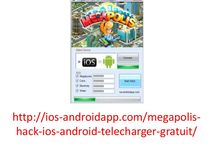 Megapolis hack ios android 2014