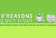 REASONS. TO. QUIT  SUGAR