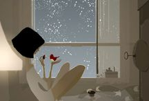 PASCALE CAMPION / Awesome illustrator, capturing the magic of mood & light with colour.