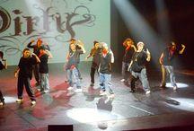 Hip hop street style dance