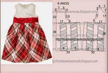 wykroje - sukienki
