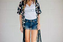 Summer Lovin / Summer and festival wear. #Fashion for warmer months.
