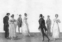 Historical dance,19th century / Dances like the English Country Dance, Regency dance, Polonaise, Quadrille, Scotch Reel, polka, schottische, two-step, waltz, Krakowiak, mazurka, racket and redowa...