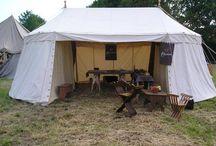 Medieval tents