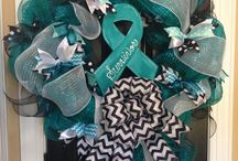 """Got TEAL'd Idea Board / Join your friends, co-workers, family, and neighbors to raise awareness about ovarian cancer by giving a designated space a """"TEAL Makeover"""". Visit http://www.whyteal.org/gallery/ for information on how to Got TEAL'd. #whyteal"""