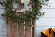 holiday and Christmas staging ideas