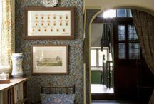 Arts and Crafts Movement / Interiors and designs form the Arts and Crafts Movement