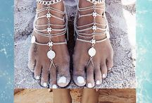 Anklet Collection / Anklets are the perfect summer's day accessory to compliment your chic footwear . With a limited edition range of boho-chic sets, your search for limited edition anklets ends here.