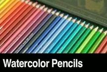 Watercolor Pencils Markers For Your Artistic Pursuits / In this board we share the best Watercolor Pencils and markers for your artistic pursuits . We love to pin and share Art tips - Click follow for lots of Crafty goodness :) Cheers Emily