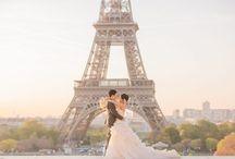 パリ ウェディングフォト | Paris Prewedding / パリで実際に行われた前撮り、後撮り、フォトツアーなどロケーションフォト撮影を特集しています!Prewedding Photos in Paris