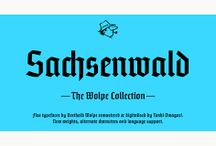 Sachsenwald™ Font Download