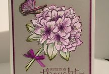"""stampin up """"best thoughts"""""""