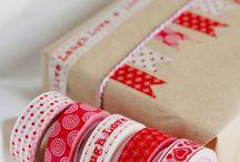 Inpakken / Het leuk inpakken van cadeautjes