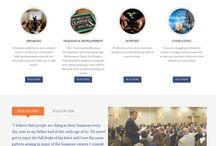 Website Design / Custom website design work for our clients.
