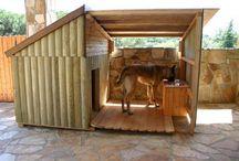 Casa de cachorro madeira