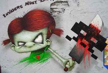 Street Art Graffiti by Webster