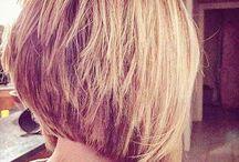 Frisuren kurz/halblang