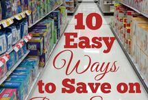 $$$ Saving Tips / Ideas to save money