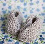 Tricot Chaussons bebe