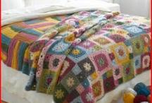 Mantas de Bebê / Confeccionadas em tricô ou crochê