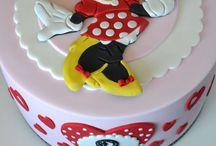 Verjaardagstaart Minnie Mouse