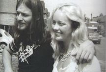 David & Ginger GILMOUR..