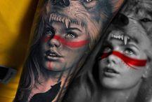 tatto wolf