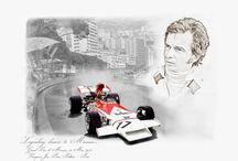 Legendary drivers to Monaco