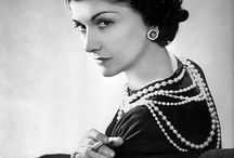 """SUSAN COHEN ASSOCIATES-J.D. STARON-COCO CHANEL IN HER ATILIER / """"Where Muses Dwell"""" Coco Chanel in her Atilier"""