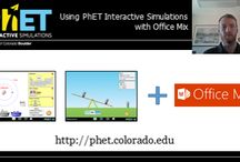 PhET and OfficeMix / Use PhET Sims in OfficeMix to create fun and exciting interactive lessons