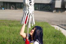 Kanu Unchou - Ikkitousen Cosplay / Character: Kanu Unchou Anime/Manga: Ikkitousen