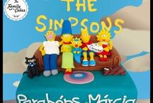 Simpsons Cake & Cookies