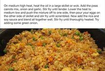 Fried ricePincrest recipes