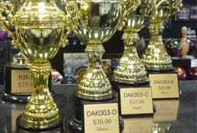 Cup Trophies / Cup trophies are perfect for those spectacular events that deserve the highest recognition. Lou Scalia's Awards beautifully detailed cup trophies are available in gold plated, nickle or silver plated, bronze or gold finishes. For that high end elegant look, choose one of our crystal cup awards. For a less expensive option, we also offer plastic cup trophies, just as ornate as the real thing. www.louscalias.com