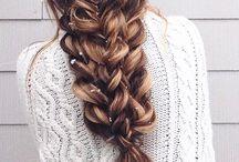 Fonott frizurák