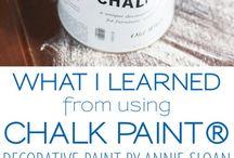 Chalk paint decor