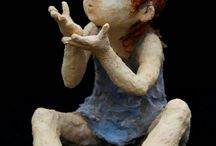 Escultura argila