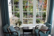 Winter gardens and  terraces by Marrakesh Cement Tile - / Cement tiles used in wintergardens and terraces.