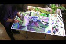 ~Watercolor floral videos~