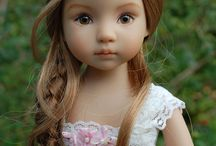 Авторские коллекционные куклы до 30 см