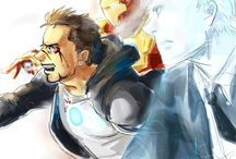 "Tony Stark / ""Sometimes you gotta run before you can walk."""