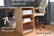 Office / work desk / by Blanca Pena
