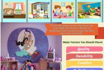 Tips to buy Kid's Furniture / Decorating a kid's room is a delightful bonding experience for parents. You can explore beautiful ideas or come with attractive theme based furniture to decorate your child's room. Flowers, airplanes, trucks and butterflies are some of the ideas that can be incorporated into theme based kids' furniture.