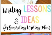 School - Writing / Writing ideas for the elementary school classroom