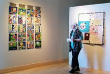 Regional SAQA Exhibitions / Many SAQA Regions create exhibitions specifically to shine the light on their talented members. We're pleased to feature a Pinterest board that highlights images from regional exhibitions and opening receptions!