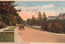 Postcards / Historic postcards from Indiana